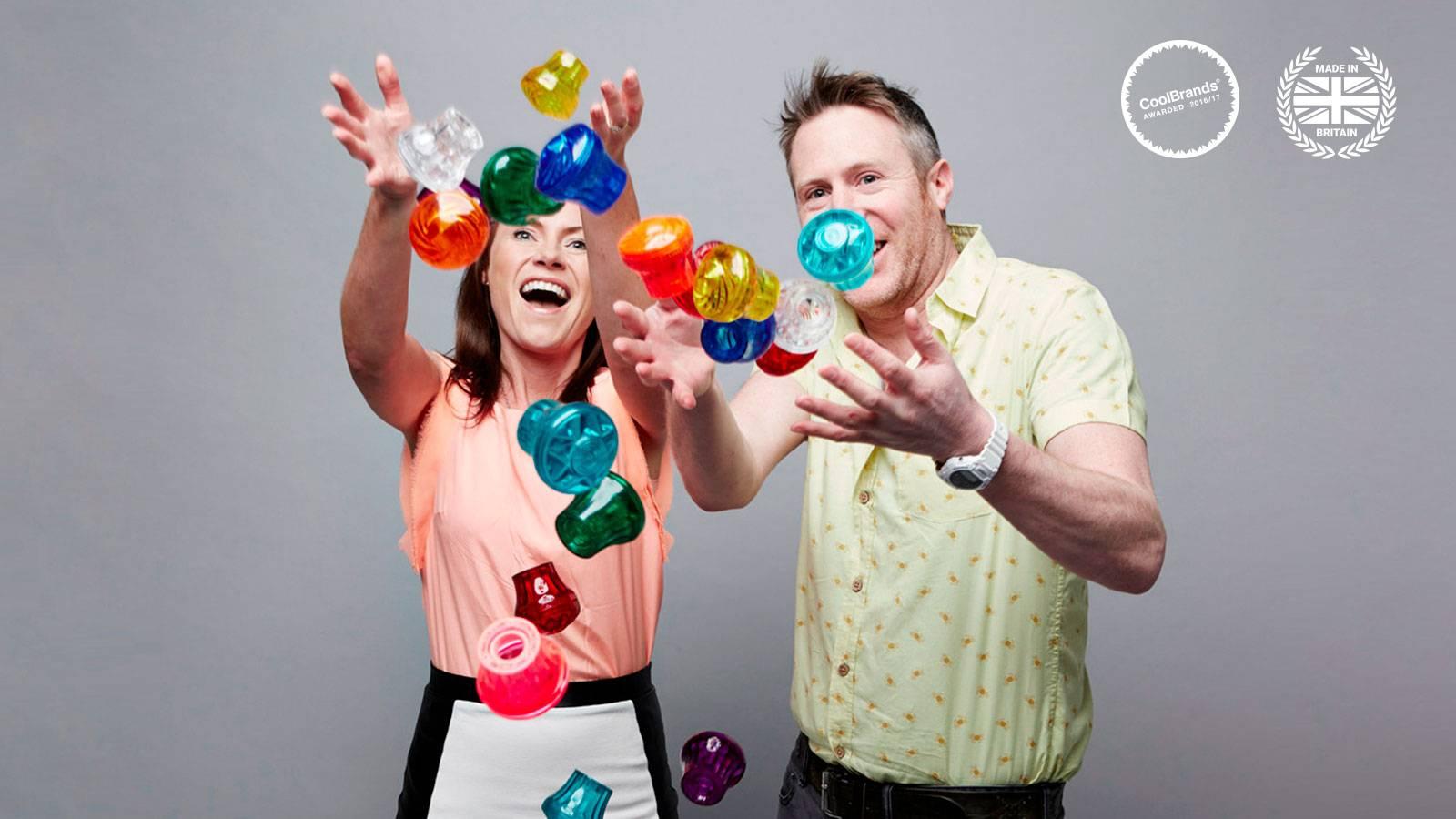 Rebecca & Ben Reynolds carousel lights founders