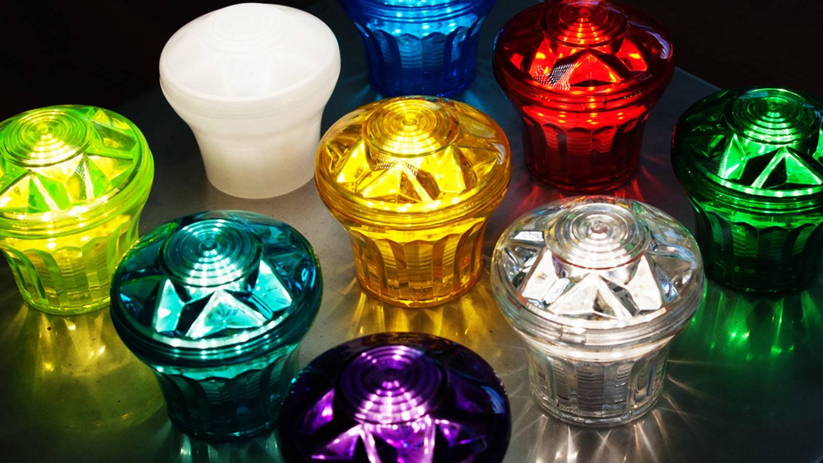 fairground lights colours bulbs