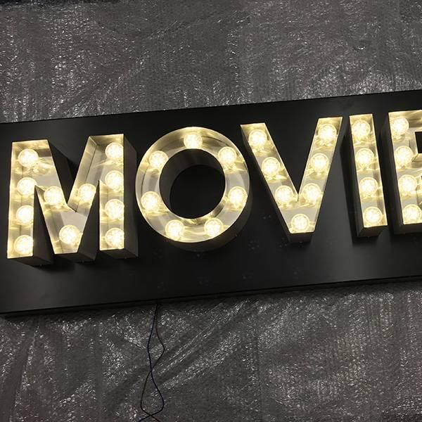 fairground lights vintage Movie