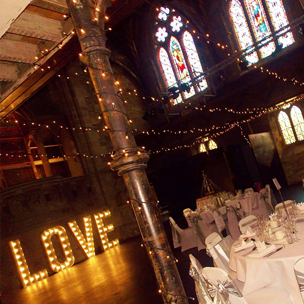 wedding neon lights Love