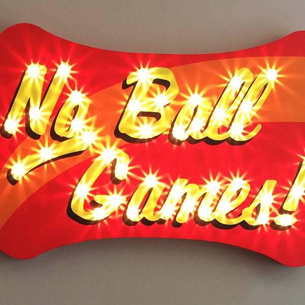 fairground lights vintage No Ball Games
