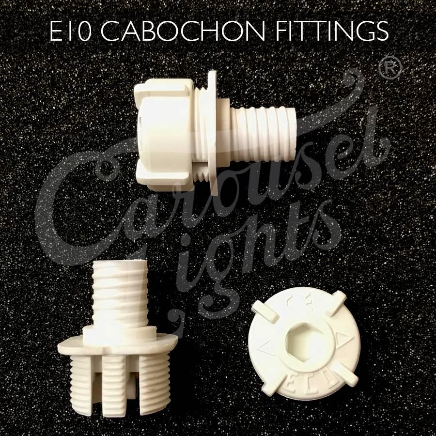 E10 Cabochon Fitting