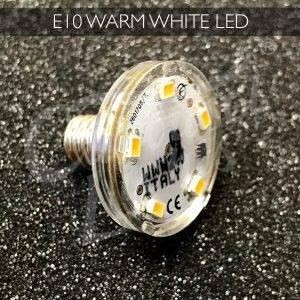 E10 Warm White LED