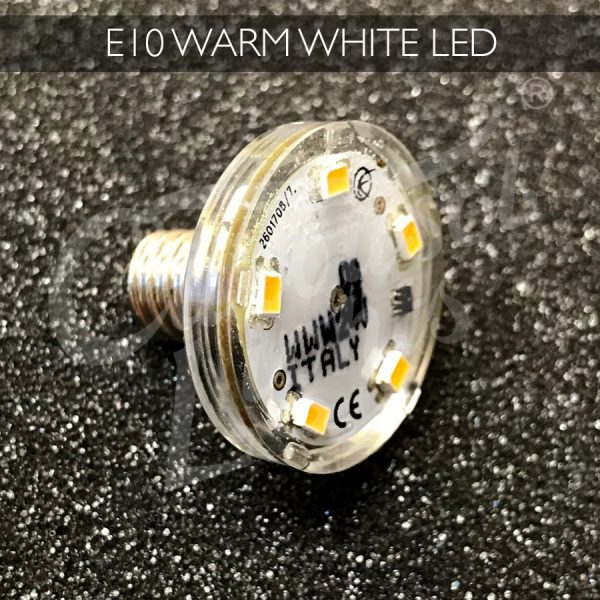 E10 Warm White LED