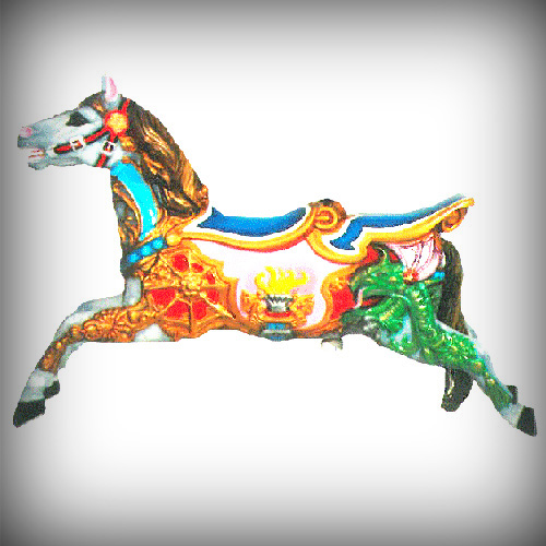 Double seater Horse