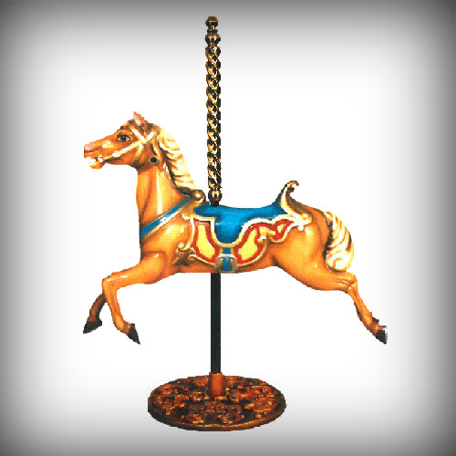 Carousel Foal on Pole