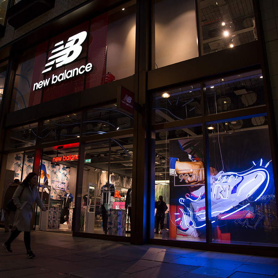 New Balance Neon Oxford Street