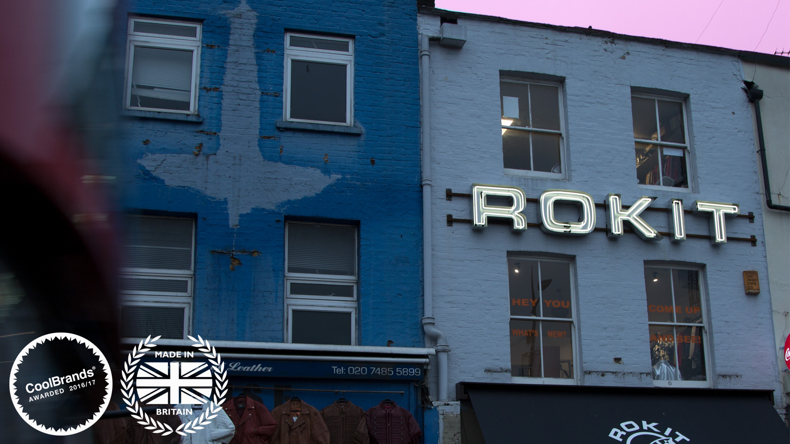 Rokit Neon Sign