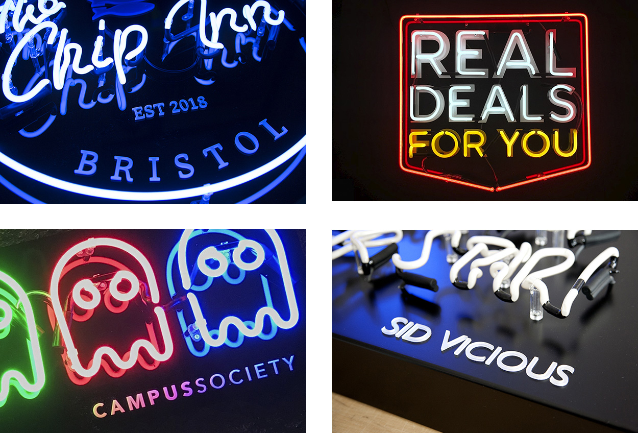 Neon Signs with Acrylic