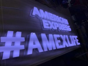 Amex Selfie Light