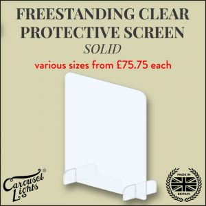 solid protective screen