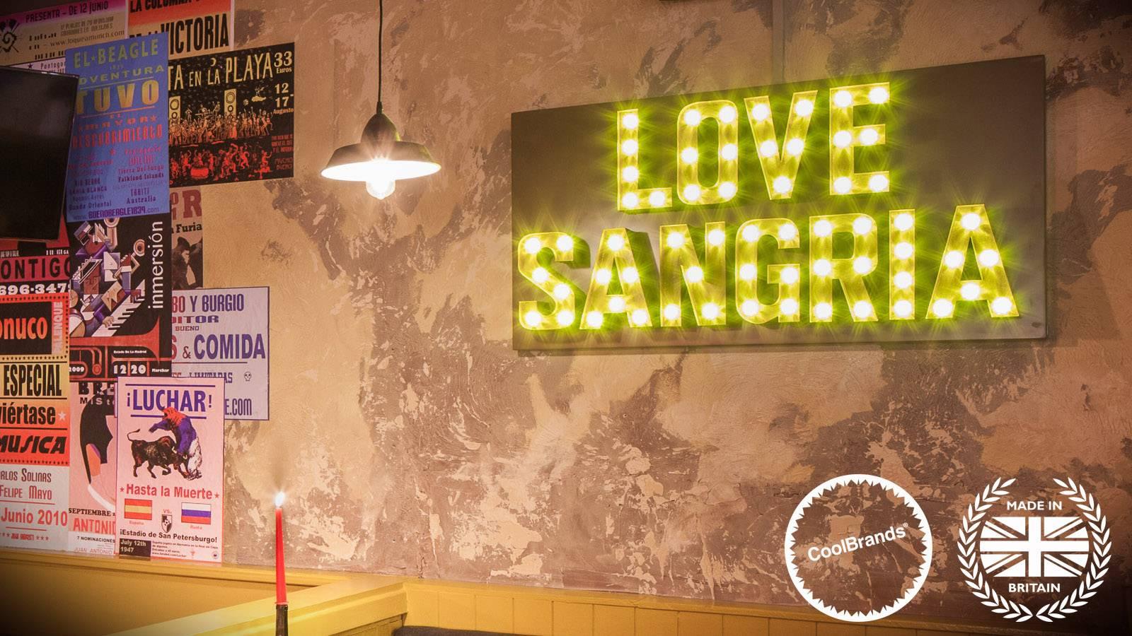 Love Sangria Fairground Lights